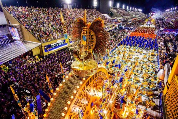 Carnaval do Rio de Janeiro no Sambódromo Marquês da Sapucaí
